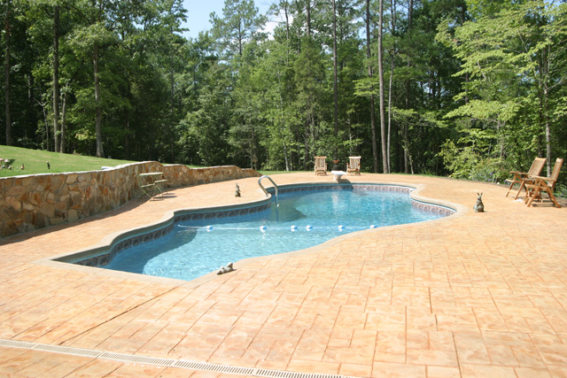 Inground Pools Above Ground Pools Griffin Pools And Spas